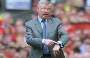 Sir Alex Ferguson © AFP